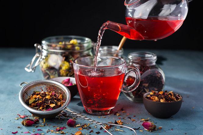 Ароматный витаминный чай