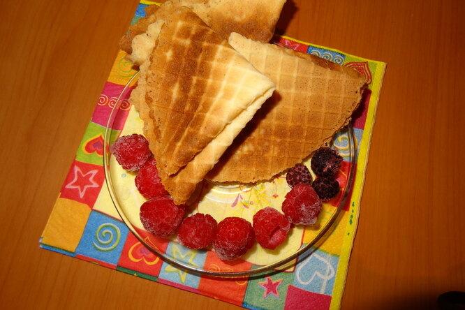 Домашние вафли «Вафельное счастье»