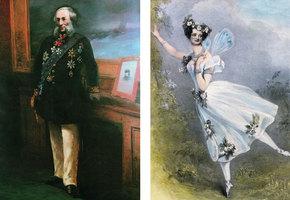 Белые ландыши. Айвазовский и Мария Тальони