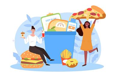 Как снизить вес силой мысли ине страдать, а получать удовольствие отеды?