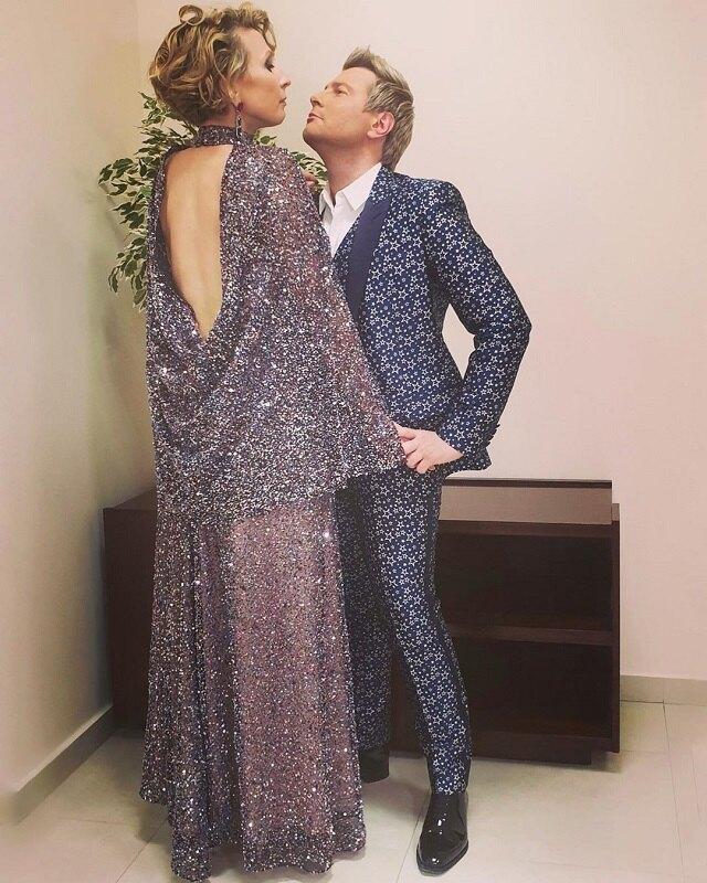 Яна Чурикова и Николай Басков