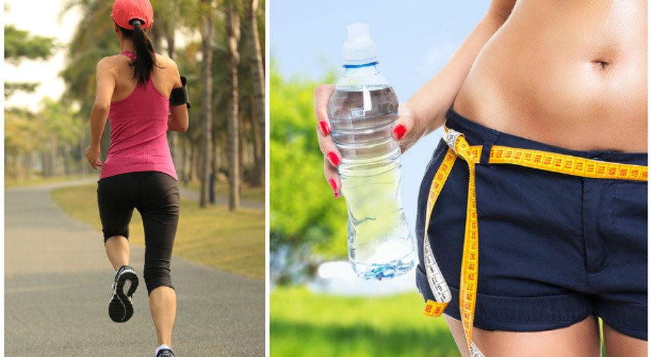 За лето похудеть бегая