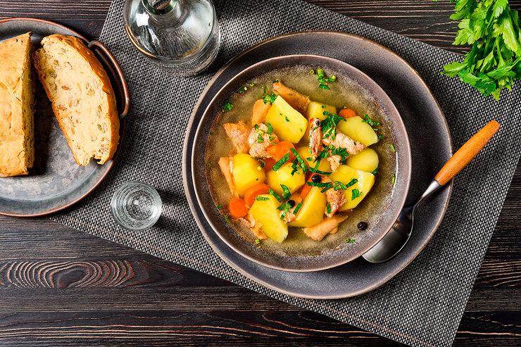 Рецепт супа изсёмги