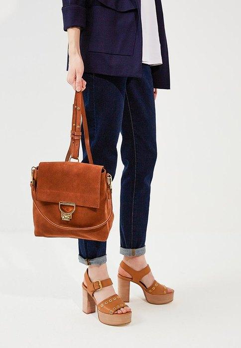 Замшевый рюкзак срегулируемыми ремнями, Coccinelle, 29 300 руб.