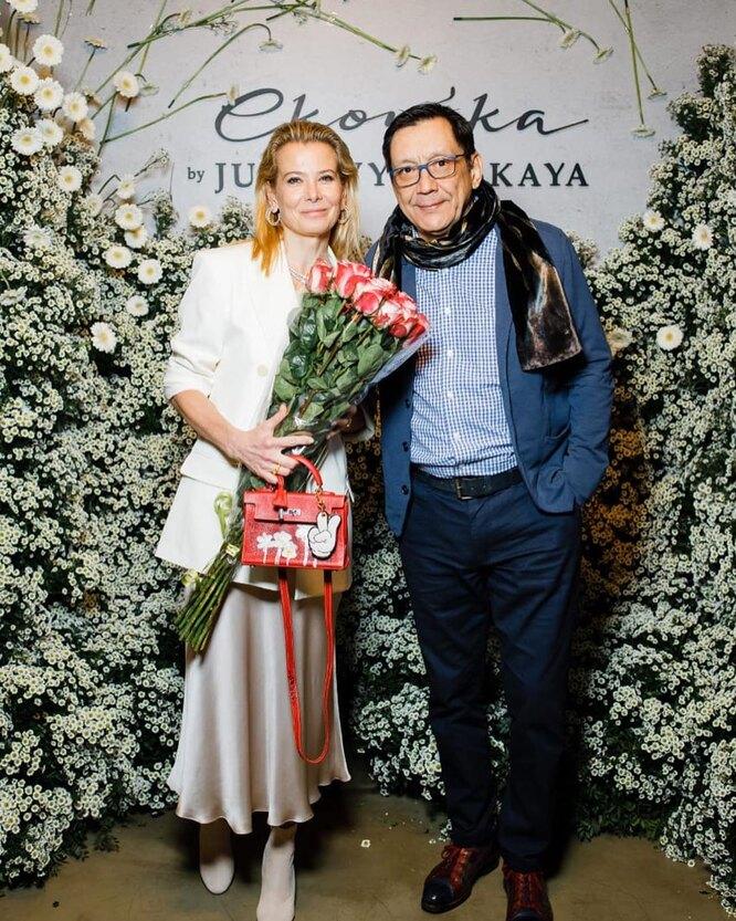 Юлия Высоцкая и Егор Кончаловский фото