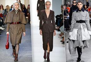 Пальто, брюки и кейпы: главные тренды осени-2019