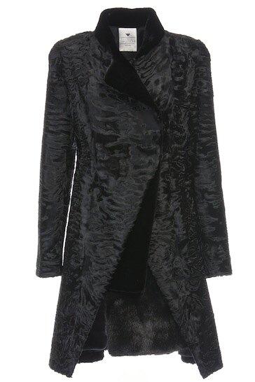 Пальто Braschi из каракуля