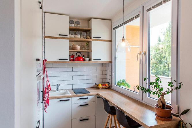 5 способов сделать маленькую кухню побольше