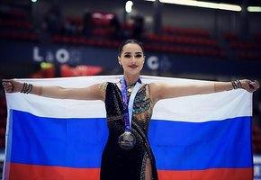 «Две звёздочки»: Олимпийская чемпионка Алина Загитова показала фото с младшей сестрой