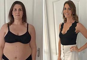 Проще не бывает: всего два шага помогли сбросить женщине 37 кг за 8 месяцев