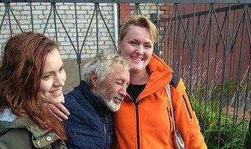 Встреча ссемьей Тахира Искандарова