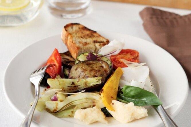 Антипасти из овощей