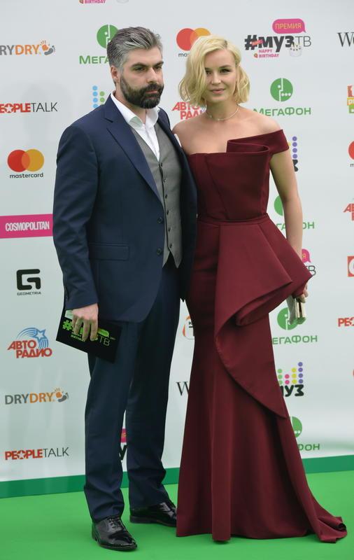 Полина Гагарина с бывшим мужем Дмитрием Исхаковым