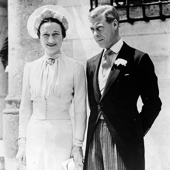 Эдуард VIII и Уоллис Симпсон, 1936 год