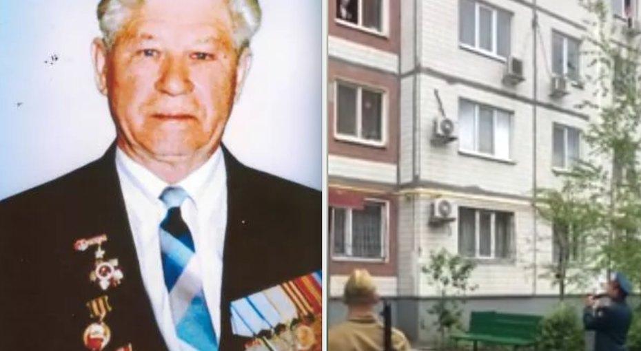 Встал уокна, надел ордена: во двор 94-летнего ветерана пришел оркестр, чтобы спеть длянего «День Победы»