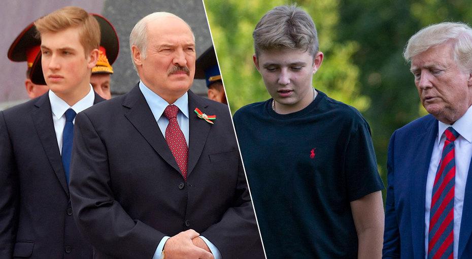 «Мальчик, достань воробушка»: такие взрослые сыновья мировых лидеров