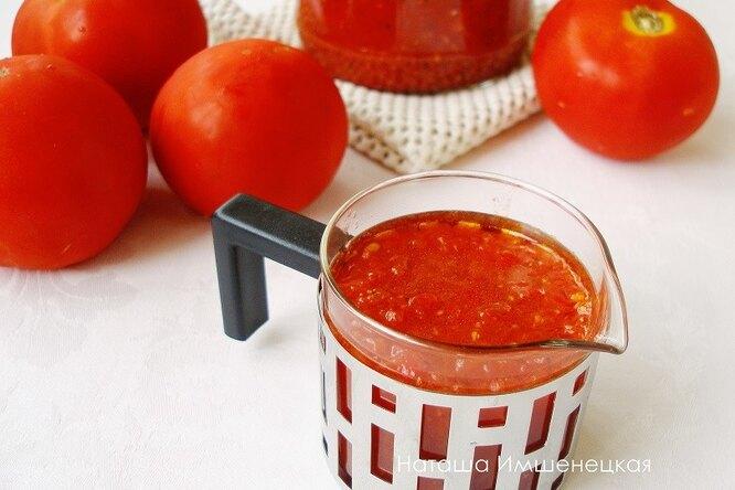 Острый томатный соус с пряностями