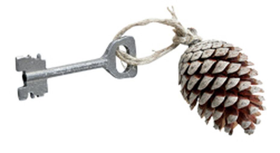 Брелок длядачных ключей