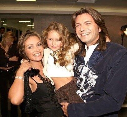 Стефания Маликова с родителями