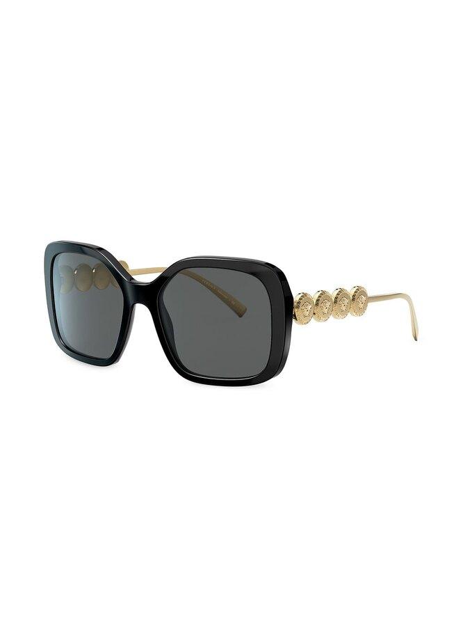 Cолнцезащитные очки в массивной оправе, Versace Eyewear, 17914 руб