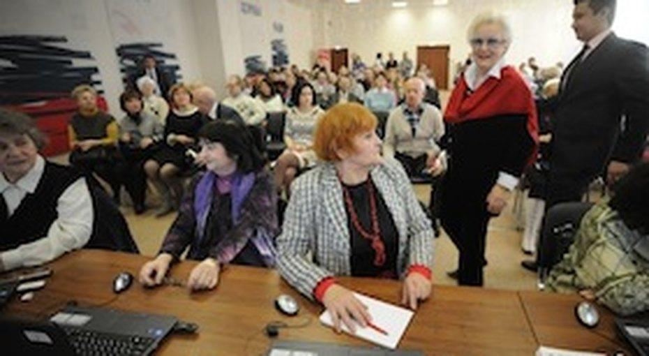 Бесплатные занятия дляпожилых людей вклубе «Бархатный сезон»