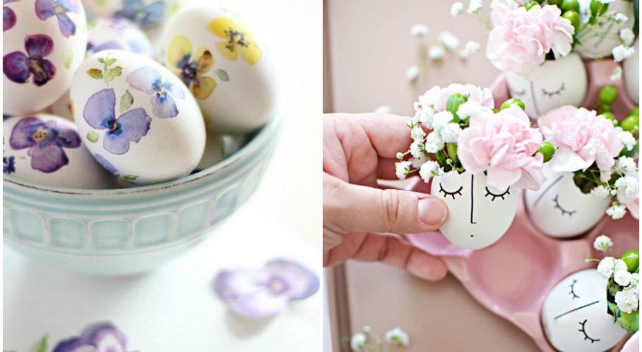 Красим яйца кПасхе: 20 очень красивых идей