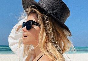 Цепочки на масках, очках и шляпах: спешите примерить новый тренд