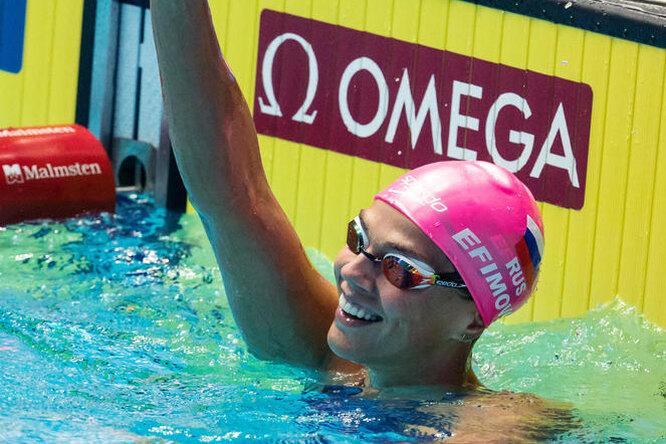 «Делаю, что хочу!» Чемпионка мира поплаванью Юлия Ефимова позирует вбикини