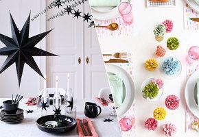 Как украсить стол к Новому году: 20 простых идей