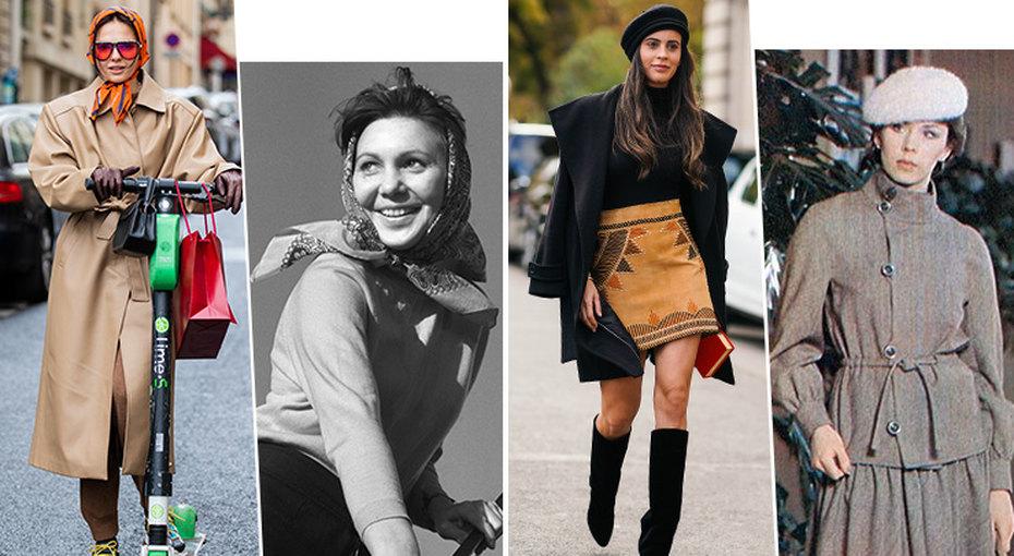 Ситцевое платье, косынка, клёш: полный список ретро-вещей, которые снова вмоде