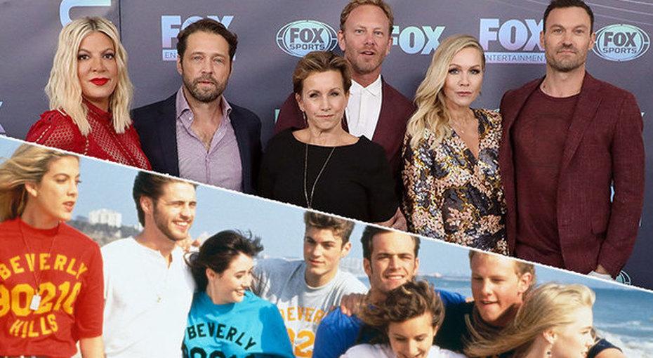 Как сейчас выглядят актеры сериала «Беверли-Хиллз, 90210»