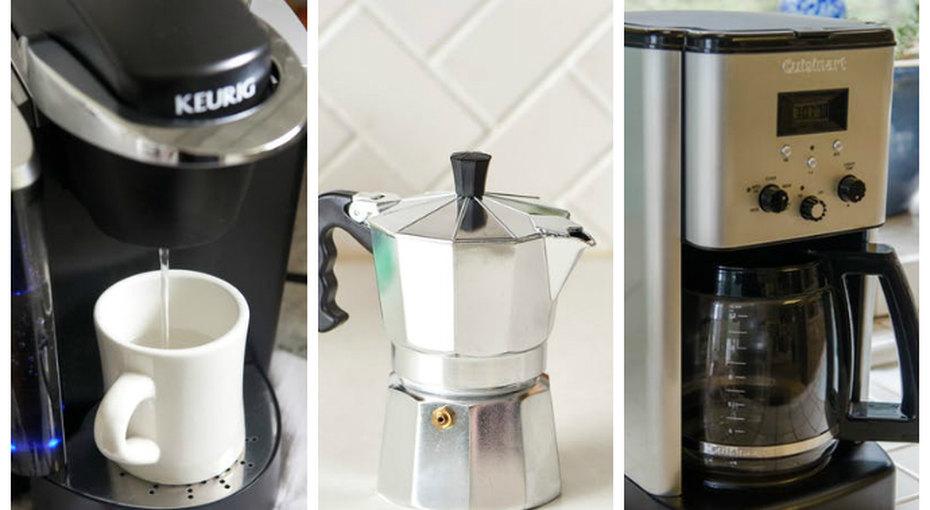 Как быстро отмыть френч-пресс иеще 3 самых популярных вида кофеварок
