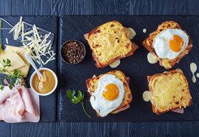 «Крок-месье» и «крок-мадам»: французские сэндвичи. Классика и её вариации