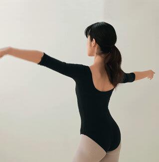 Балерина, осанка человека как исправить