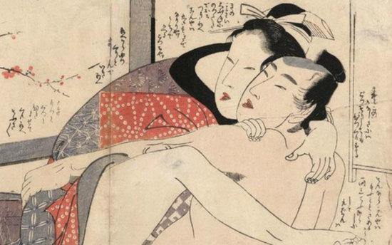 Целоваться запрещено: история секса вдревней Японии
