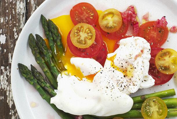 Рецепт яиц на завтрак для похудения