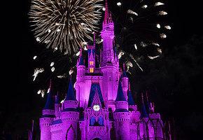 Отец устроил для дочери фейерверк, как в заставке Disney