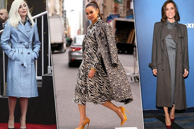 Звездный пример: как выбрать пальто ис чем его носить
