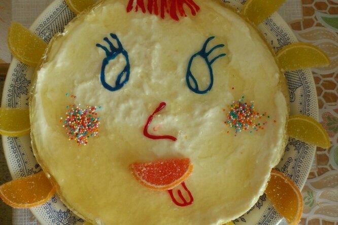 Детский десерт