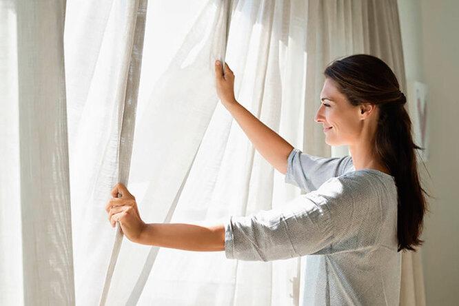 Как грамотно постирать шторы, чтобы они несели