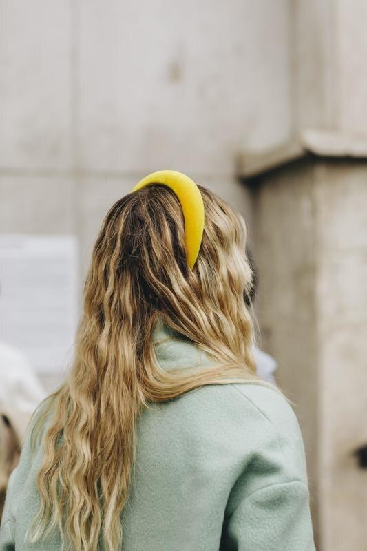 Девушка на Неделе моды