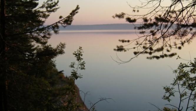 Озеро, в котором обнаружили тело погибшей. Telegram-канал Mash