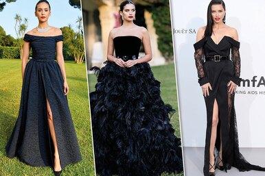 Впечатляюще! Самые красивые черные платья знаменитостей