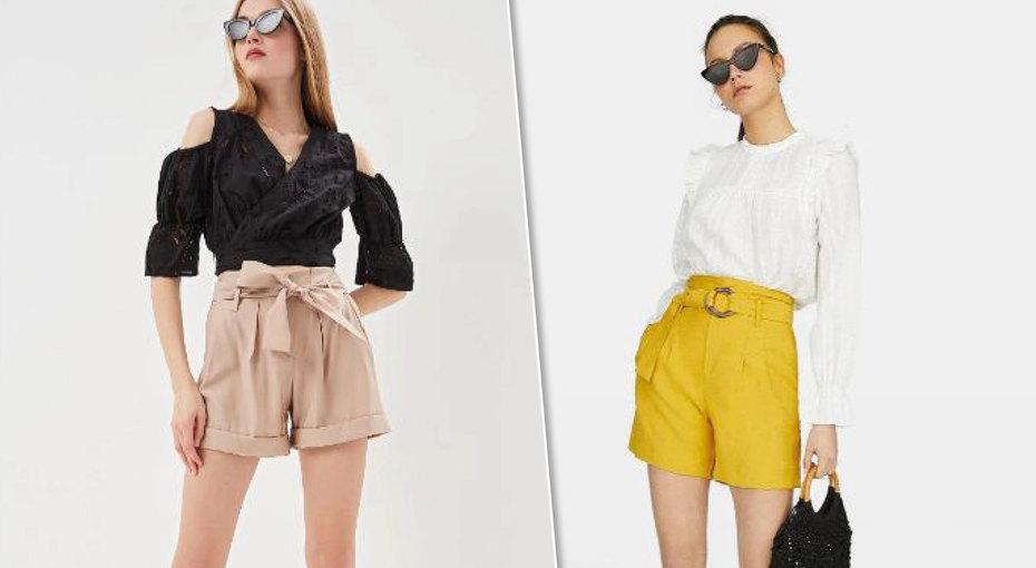 Выбираем модные шорты свысокой посадкой дляэтого лета