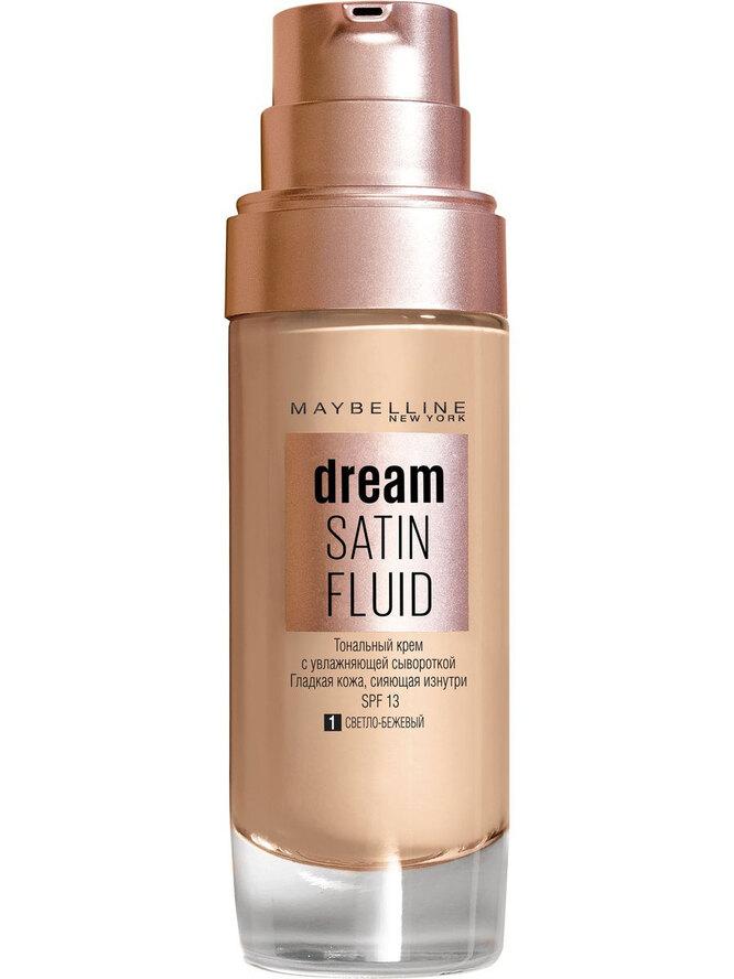 Dream Satin Fluid, Maybelline New York, 611 руб