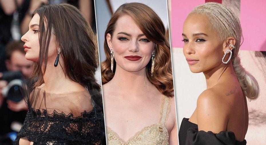 Учимся узвезд: 16 праздничных причесок длядлинных волос