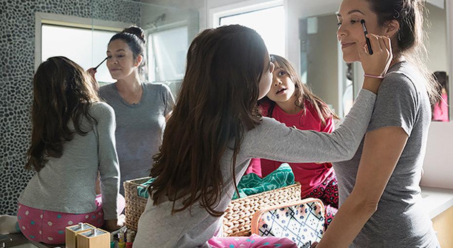 Как быстро накраситься: советы молодых мам длятех, укого совсем нетвремени