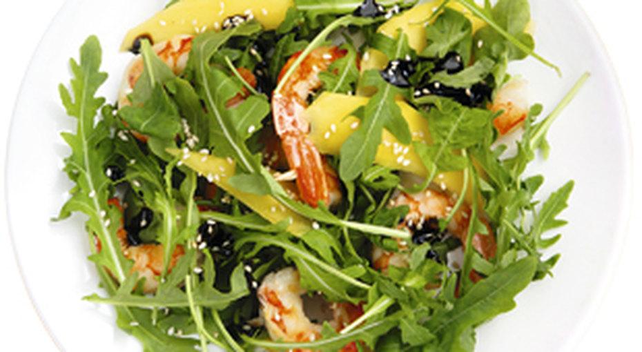Салат скреветками - просто иполезно!