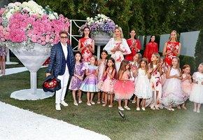 Валентин Юдашкин, Алена Бабенко и другие звезды на фестивале садов и цветов Moscow Flower Show