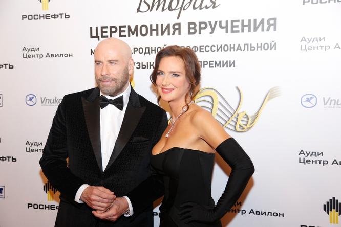 Джон Траволта и Елена Север